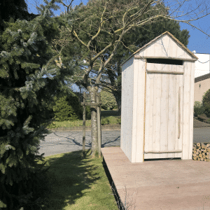 cabine de plage charrier bois